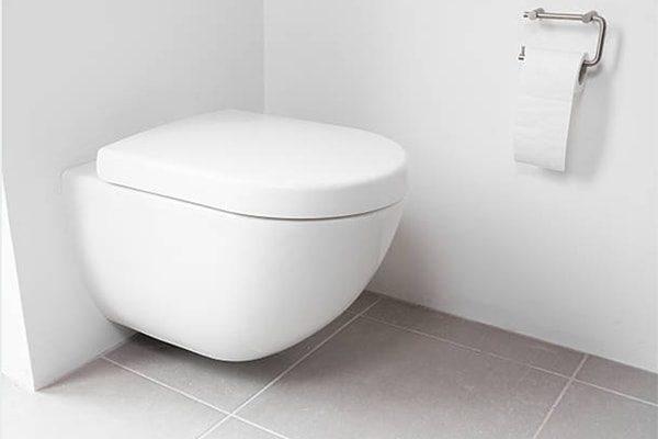 vvs haderslev badeværelse væghængt toilet